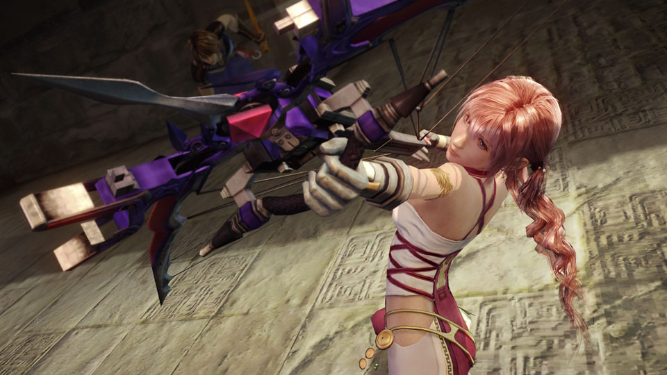 Final Fantasy XIII-2 is 90 percent complete, more pre-TGS details