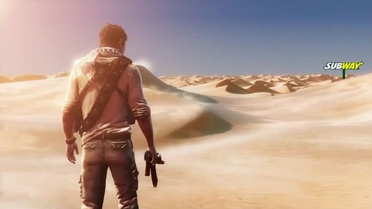 Subway serves cold, hard Uncharted 3 promotion details — not toasted