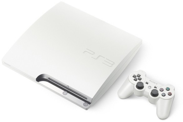 White PS3 coming to Europe and Australia this November