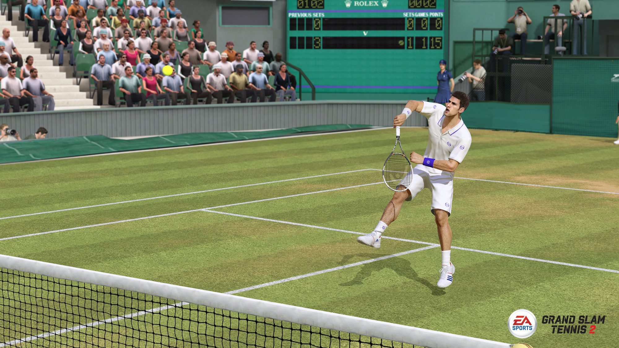 Grand Slam Tennis 2 – Shots Straight Down the Line