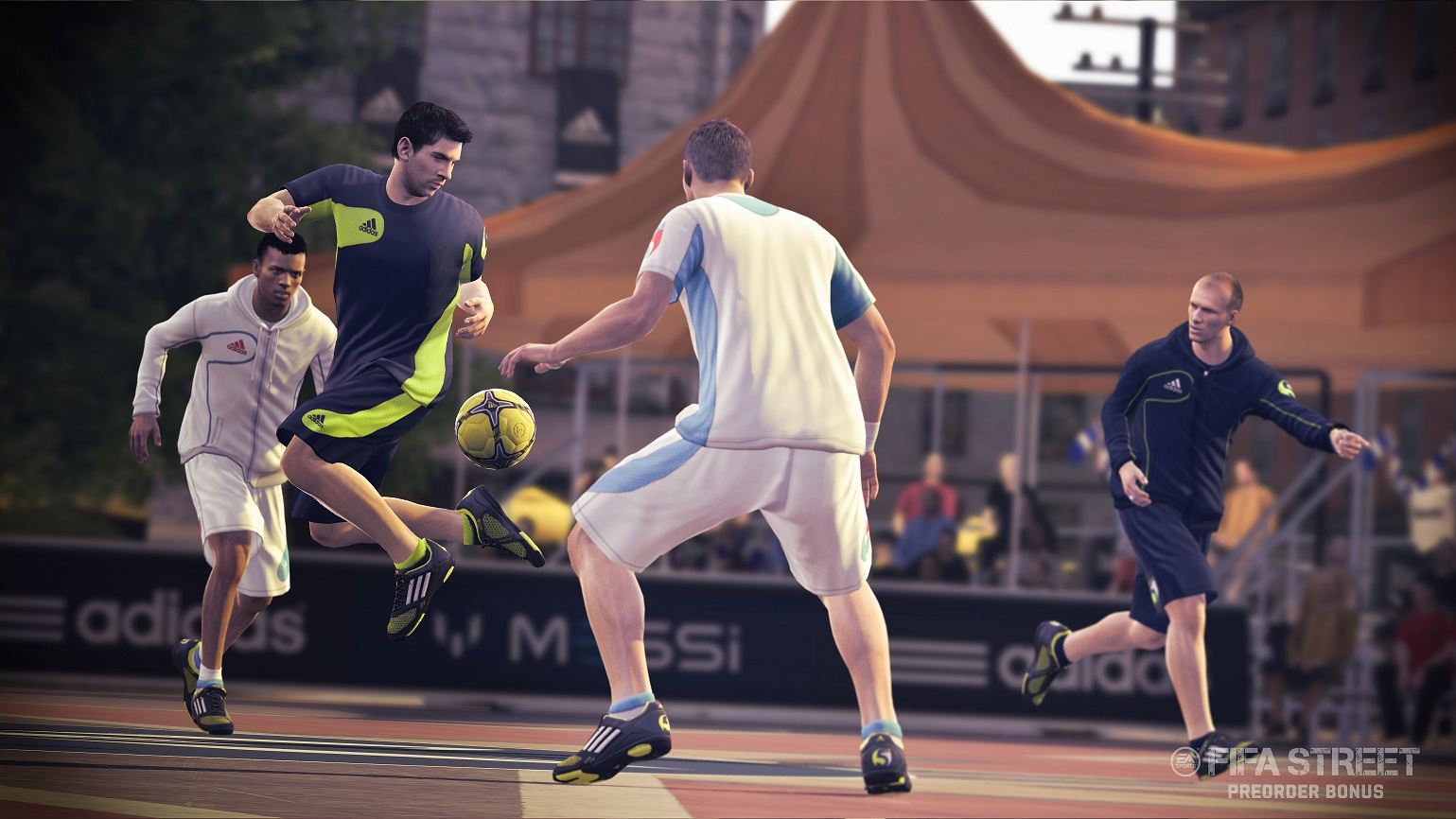 FIFA Street – Some Urban Announcement Images