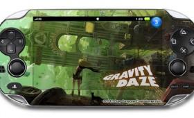 PlayStation Vita Gets Gravity Daze Skins