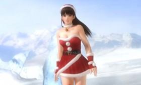 Dead or Alive 5 Santa Suit DLC screenshots