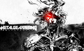 Metal Gear Rising: Revengeance – Blue and white Raiden Art