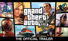 Grand Theft Auto V – Official Trailer and Art