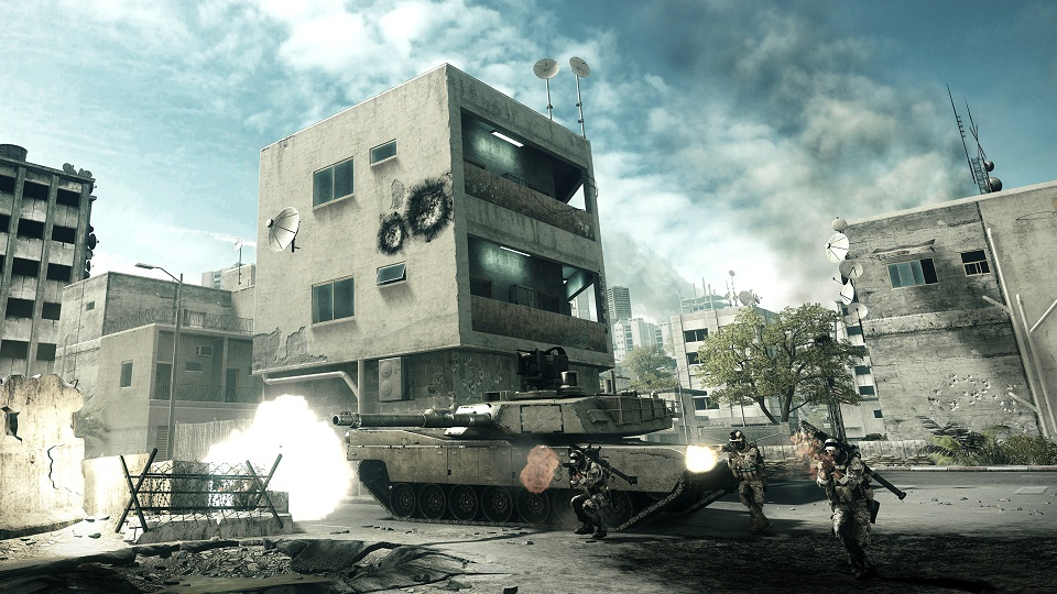 Battlefield 3 – Screenshots from the Back to Karkand